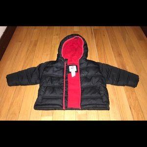 Boys winter coat with hood